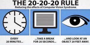 Use 20-20-20 Rule