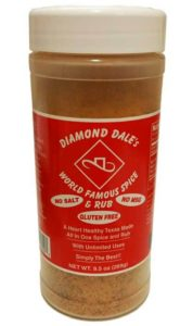 Diamond Dale's World Famous Spice and Rub – A Heart Healthy Spice for Everyone
